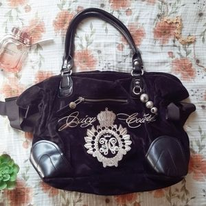 ☆Juicy Couture☆Black Velvet Bag
